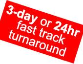 Fast track turnaround