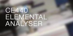 CE440 Elemental Analyser