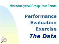 Performance Evaluation Exercise